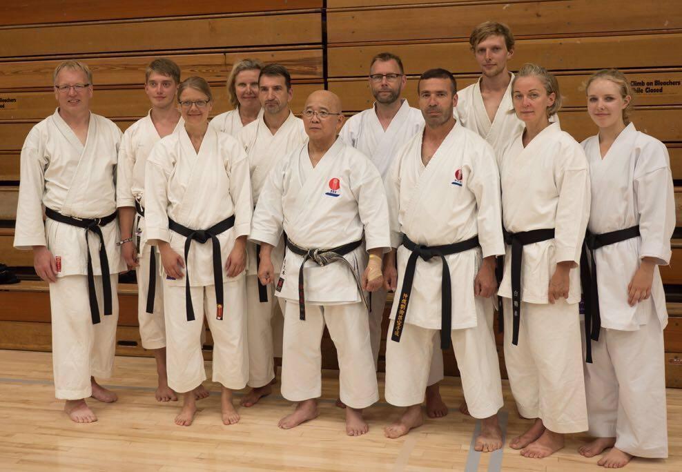 Gruppenfoto mit Sakumoto